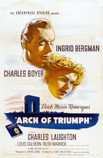 arc de triomphe 1948