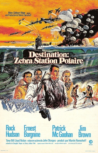 destination zebra station polaire 1968