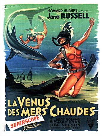 la venus des mers chaudes 1955