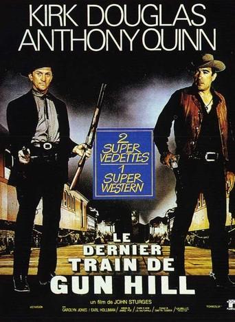 le dernier train de gun hill 1959