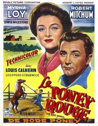 le poney rouge 1949