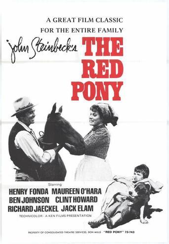 le poney rouge 1973