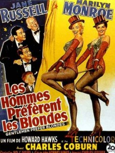 les hommes preferent les blondes 1953