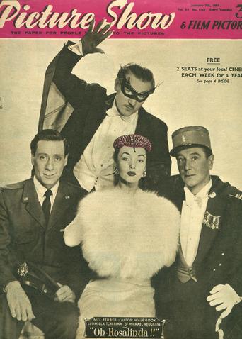 oh rosalinda 1956