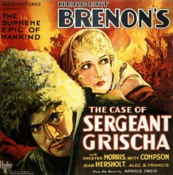the case of sergeant grischa 1930