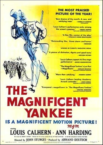 the magnificent yankee 1950
