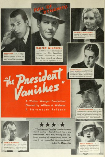 the president vanishes 1934
