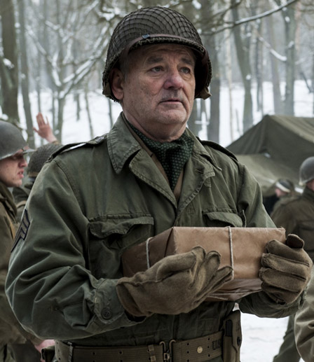 les monuments men 2014