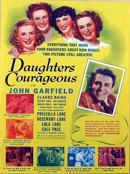 filles courageuses 1939
