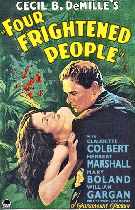 four frightened people 1934