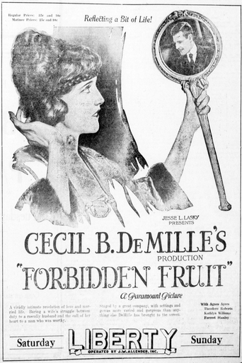 le fruit defendu 1921