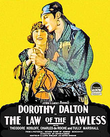 law of the lawless 1923